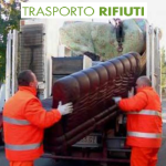 Trasportiamo rifiuti di tipo ingombrante non pericolosi